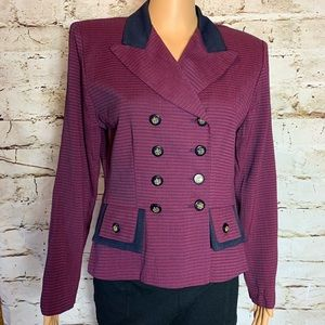 Vintage Perceptions Double Breasted Blazer